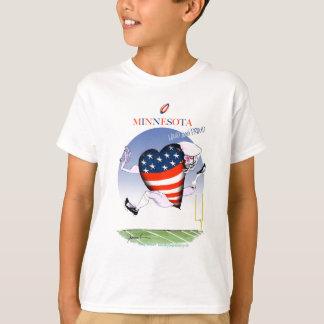 minnesota loud and proud, tony fernandes T-Shirt