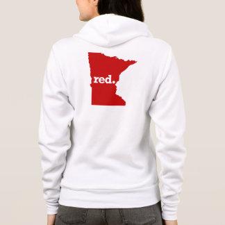 MINNESOTA RED STATE HOODIE