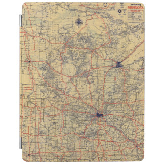Minnesota standard map iPad cover