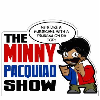 Minny Pacquiao: Hurricane Tsunami Sculpture Standing Photo Sculpture