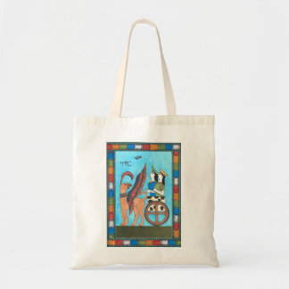 Minoan Tarot Bag: The Chariot Tote Bag