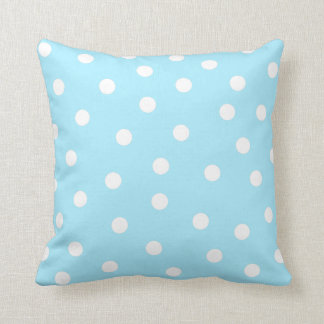 Mint Dot Pillow