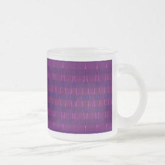 Mint Glass Mug - Abstract