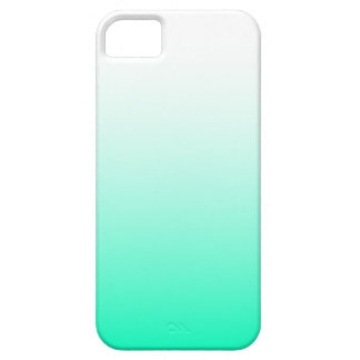 Mint Green Ombre iPhone 5 Covers