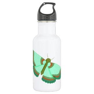 Mint / Olive / Umber Butterfly 532 Ml Water Bottle