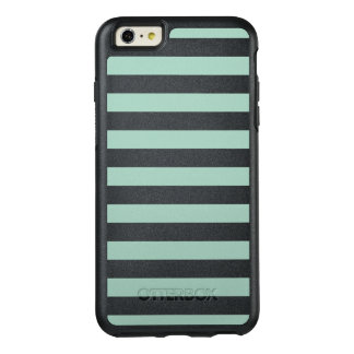 Mint stripe OtterBox iPhone 6/6s plus case