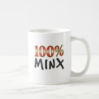 Minx 100 Percent Coffee Mug