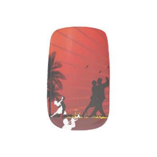 Minx Beach Manicure Minx Nail Art