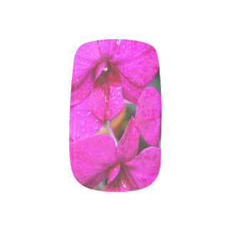 Minx Nails - Orchid Minx Nail Art