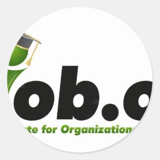 MIob Logo Merchandise Classic Round Sticker