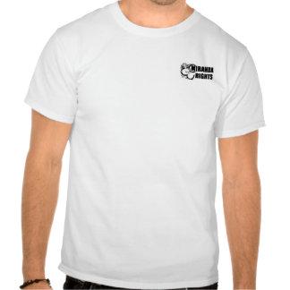 Miranda Rights Reverse Back T-shirt