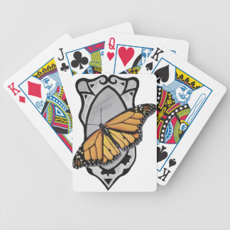 Mirror Butterfly Bicycle Playing Cards