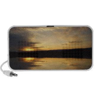 Mirrored Sunset Notebook Speakers