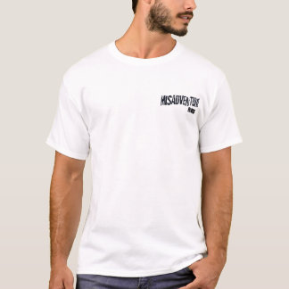 misadventurelogo2, BLUES T-Shirt
