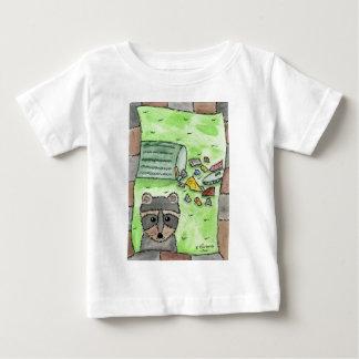 Mischievous Racoon Baby T-Shirt