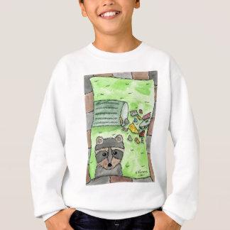 Mischievous Racoon Sweatshirt