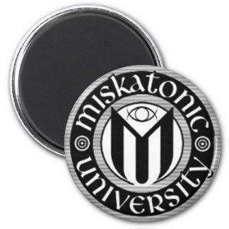 Miskatonic University 6 Cm Round Magnet