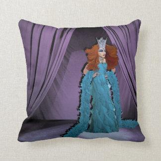 Miss Amanda Handlme 2-Sided Pillow (Purple/Pink)