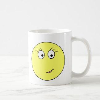 Miss Emoticon Coffee Mug