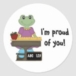 Miss Froggy/I'm proud of you! Sticker