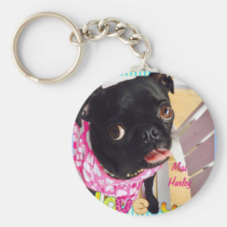 Miss Harley Loves You Key Ring
