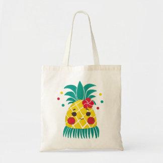 Miss Hawaiian Pineapple Tote Bag