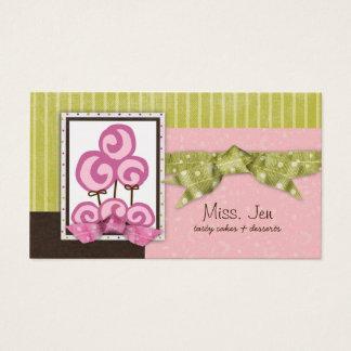 Miss. Jen Just Lolli Business Cards
