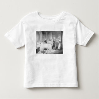 Miss Nightingale in the Hospital at Scutari, engra Toddler T-Shirt