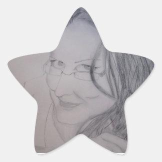Miss Norma Star Sticker