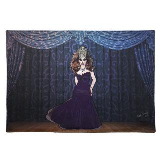 Miss Priscilla Velvet Placemat