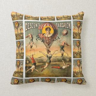 Miss Stena Descente D'Absaoln Vintage Circus Act Cushion