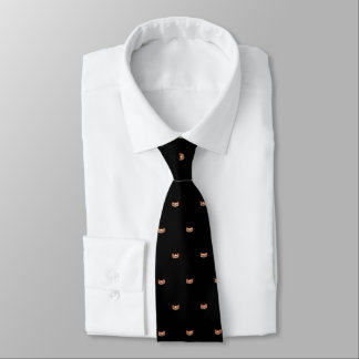 Miss USA Orange Star Crown Men's Tie