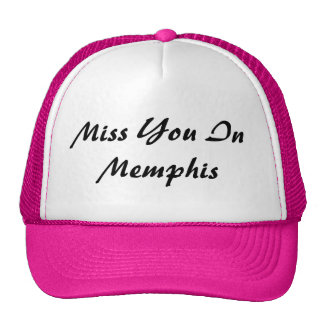 Miss You In Memphis Hat