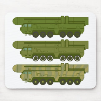 Missile carrier vector mouse pad