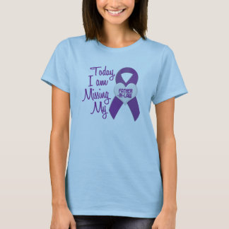 Missing My Father-In-Law 1 (Purple Ribbon) T-Shirt
