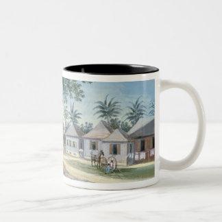 Missionary Buildings, St. Johns, Antigua (w/c and Two-Tone Coffee Mug