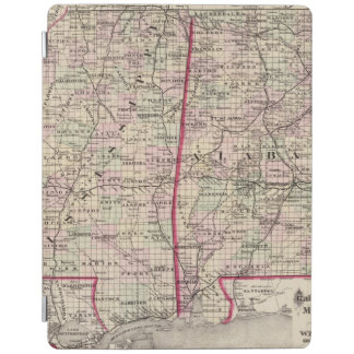 Mississippi and Alabama iPad Cover
