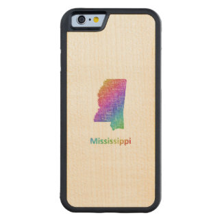Mississippi Carved Maple iPhone 6 Bumper Case
