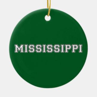 Mississippi Christmas Ornament