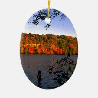 Mississippi Fall Christmas Ornament