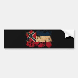 Mississippi Flag Bumper Sticker