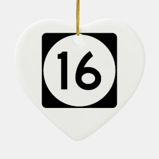 Mississippi Highway 16 Christmas Ornament