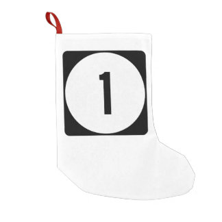 Mississippi Highway 1 Small Christmas Stocking