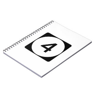 Mississippi Highway 4 Spiral Notebook