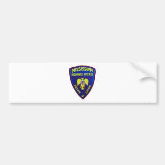 Mississippi Highway Patrol Bumper Sticker