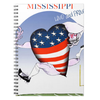 mississippi loud and proud, tony fernandes notebook