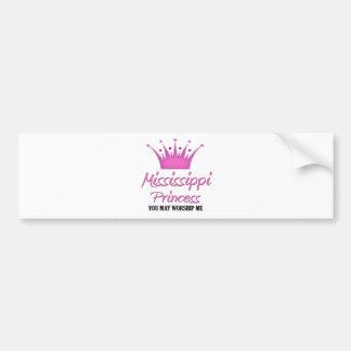 Mississippi Princess Bumper Sticker