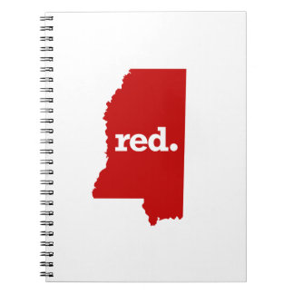 MISSISSIPPI RED STATE NOTEBOOK