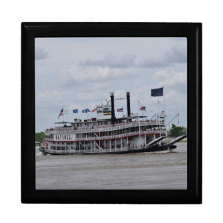 Mississippi River Boat New Orleans Gift Box