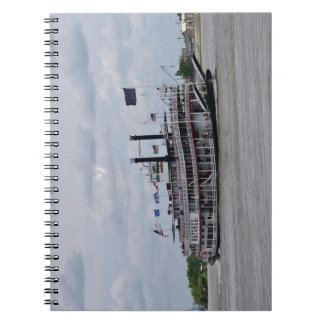 Mississippi River Boat New Orleans Notebooks